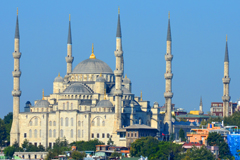 Turkey Blue Mosque - Middle East