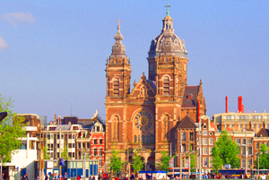 Amsterdam Holland Church