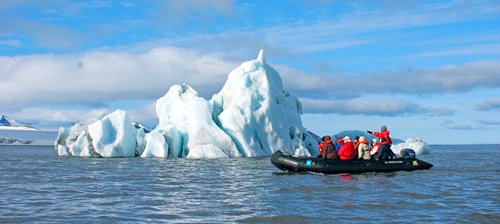 Arctic Expedition Iceberg