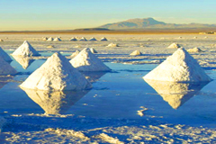 Chile Atacama Desert Salt Lake AK