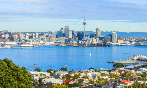 Auckland skyline MF