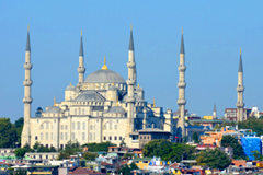 Istanbul Turkey Blue Mosque LE