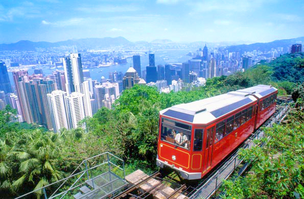 China Hong Kong Tram