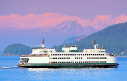 San Juan Islands USA Ferryboat BR