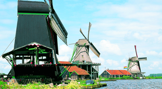 Netherlands Windmills