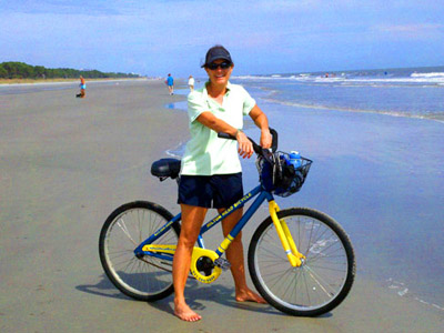 Hilton Head South Carolina Bike Beach