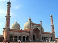 India Delhi Mosque