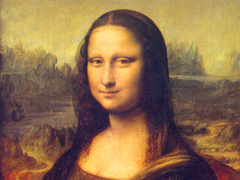 Mona Lisa Lourve Paris France