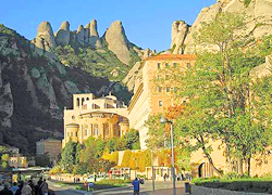 Monastery at Montserrat, Catalonia Spain