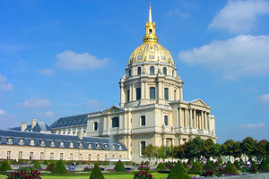 Paris Dome Church at Les Invalides LE