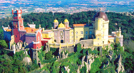 Portugal Sintra Castle