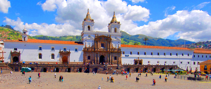 Quito San Francisco Church MT