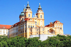 Holland River Cruise Melk Abbey Austria