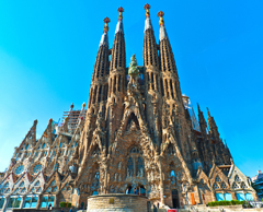 Sagrada-Familia Barcelona Spain