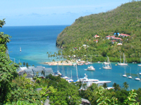 Top Ten Romantic Destinations St Lucia