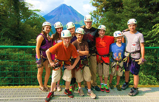 Costa Rica Tour Group Zipline