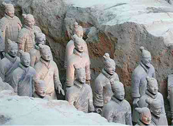 China Terra Cotta Warriors Tunnel