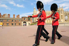 England Windsor Castle Guards